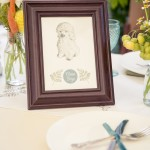 Velveteen Rabbit bespoke christening party stationery