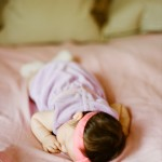 newborn baby girl shoot on film