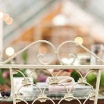 Vintage french chair wedding