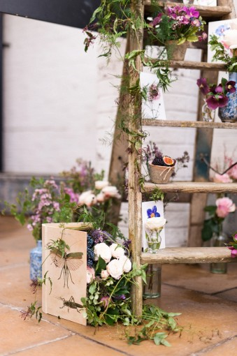 botanical autumn wedding inspiration