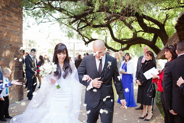 Neutral Elegant Outdoor Wedding: Timeless And Elegant Ivory And Stone Wedding In South