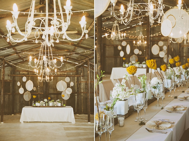 Kallie & Ansu's Modern Organic South African Wedding with Yellow Painted Proteas by Blackframe Photography (1)