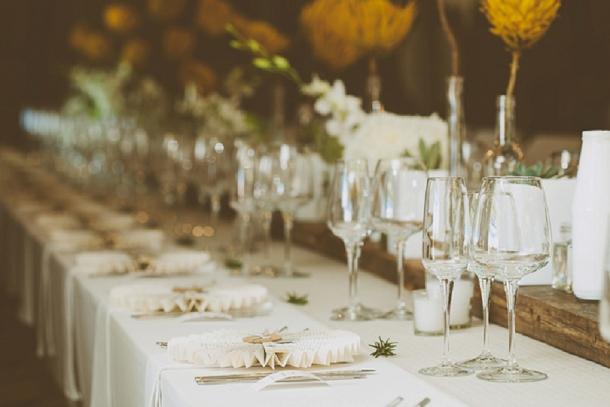 Kallie & Ansu's Modern Organic South African Wedding with Yellow Painted Proteas by Blackframe Photography (7)
