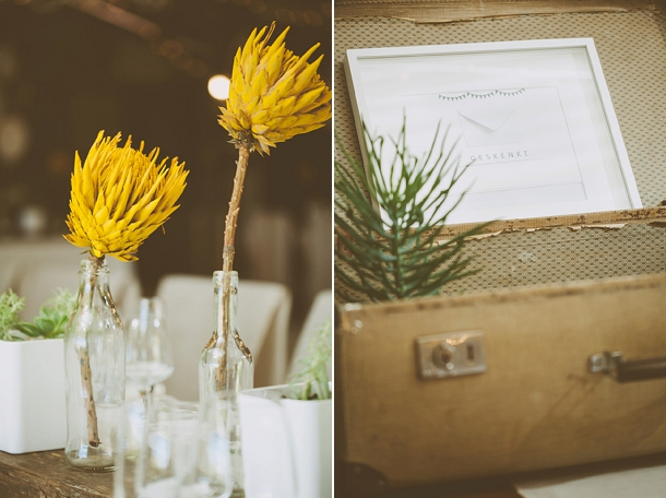 Kallie & Ansu's Modern Organic South African Wedding with Yellow Painted Proteas by Blackframe Photography (8)