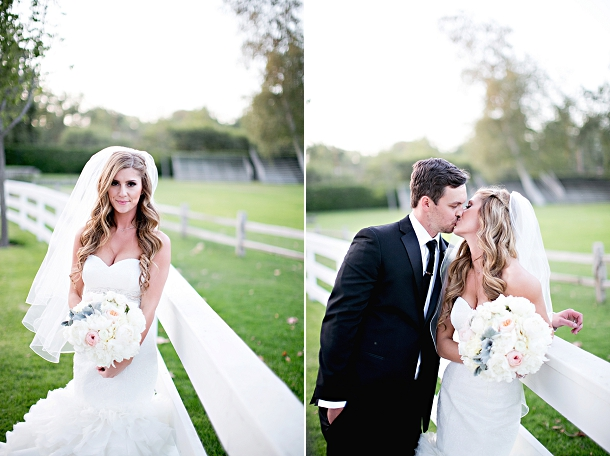 Romantic Blush & Gold Wedding by Melissa Vossler (19)