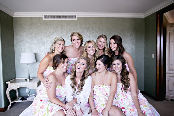 Romantic Blush & Gold Wedding by Melissa Vossler (28)