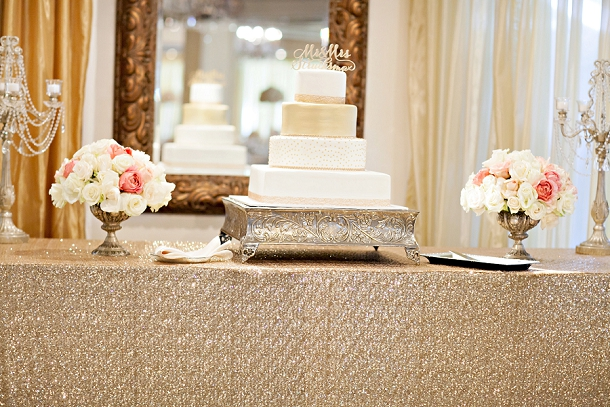 Romantic Blush & Gold Wedding by Melissa Vossler (7)