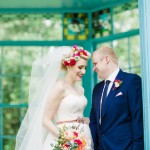 outdoor wedding ceremony at Western Park, Sheffield