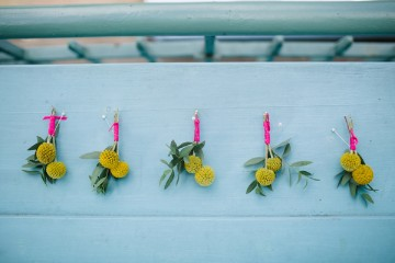 yellow billy ball buttonholes