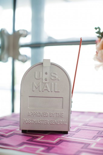 us mailbox wedding post