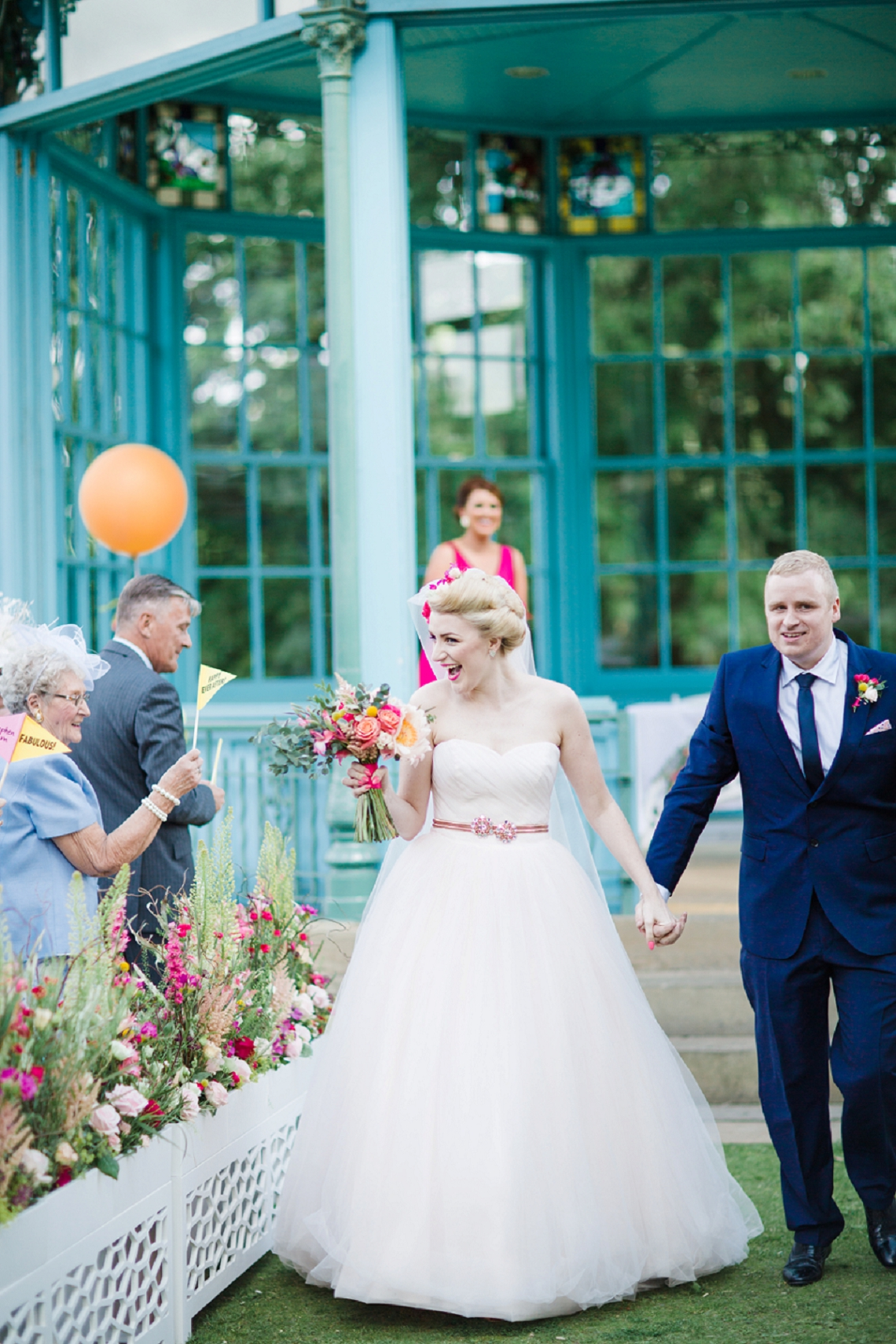 Colourful & Contemporary City Wedding inspired by Carrie Bradshaw by ...