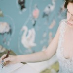 Bridal editorial shoot at The Roost Hackney