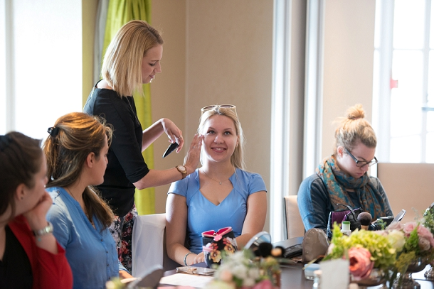Bloggers Beauty Masterclass with Tori Harris MUA at The Bingham