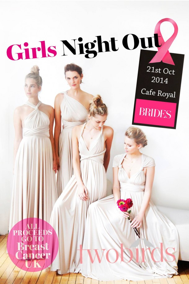 twobirds Girls Night Out with Brides Magazine & Breast Cancer UK