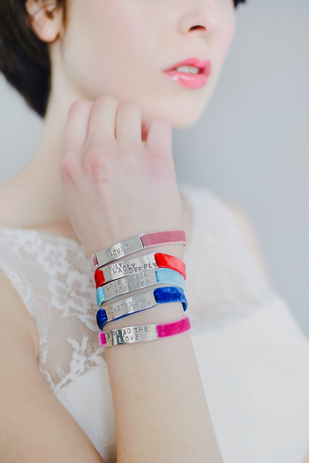 Personalised bracelets by Syryp & Salt