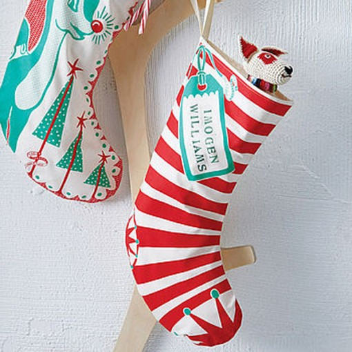 Christmas Stocking from Mary Fellows at NOTHS