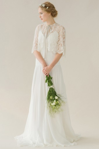 6 Stylish Bridal Coverups For Winter Weddings