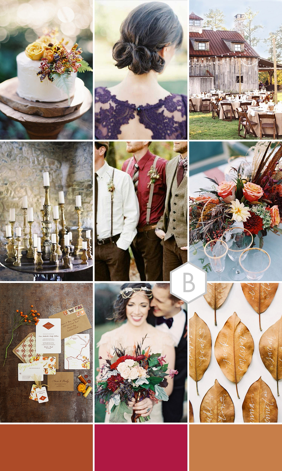 Falling In To You Autumn Wedding Inspiration