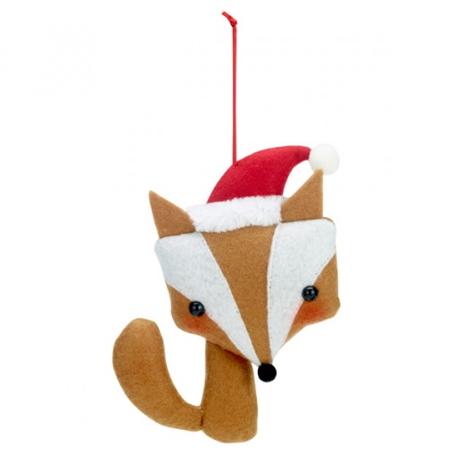 Felt Fox Christmas Decoration from Paperchase