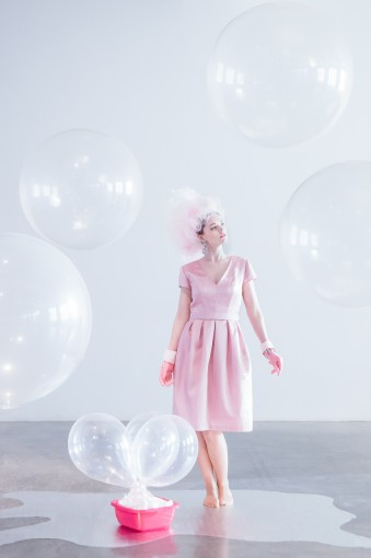 giant clear balloons