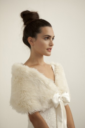 A Simple Faux Fur Cover Up Like This Stole By Katie Carter Is Perfect For Dress With Bit More Detailing And Most Definitely The Warmest Of