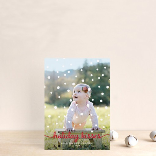 Personalised Christmas cards from Minted