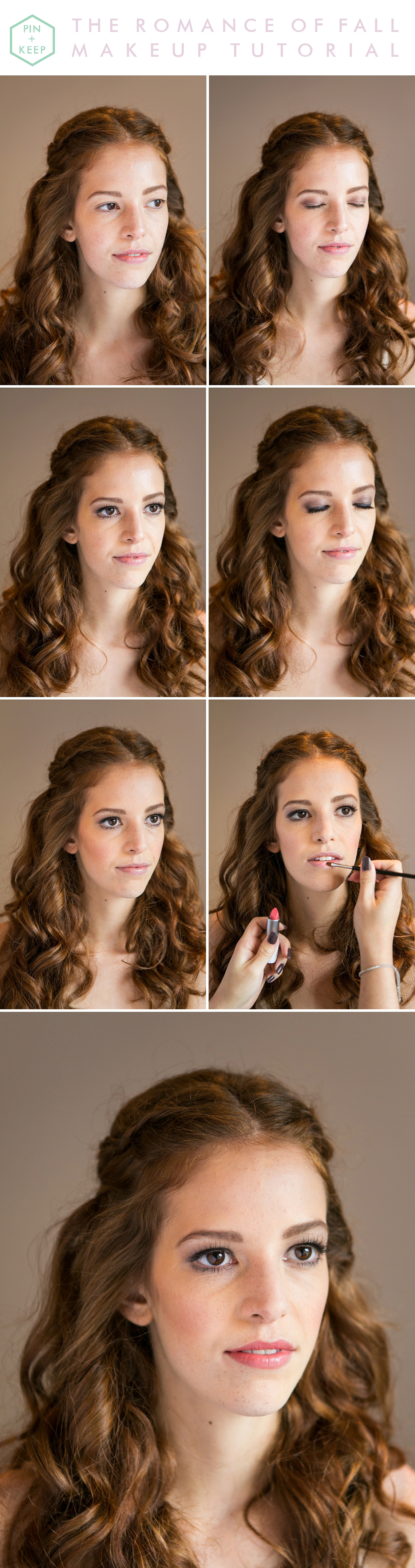 The Romance Of Fall Makeup Tutorial by Anneli Marinovich (1)