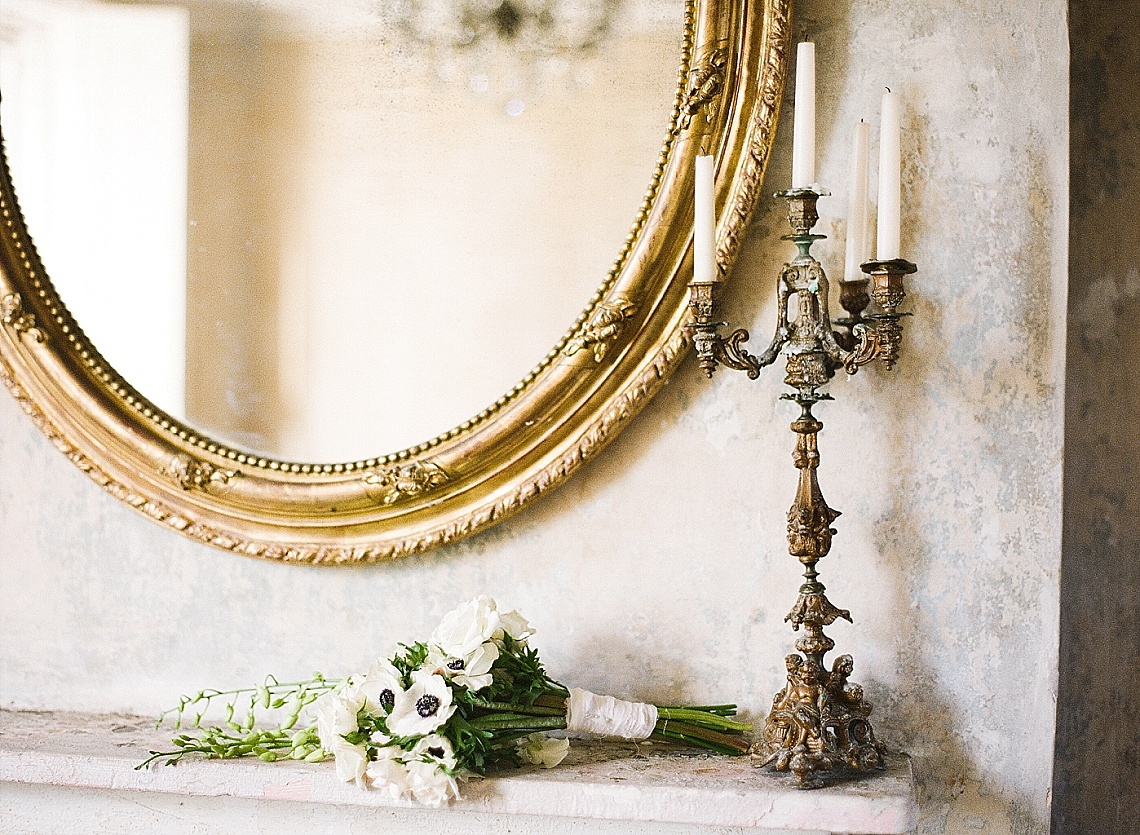 Luxurious Antique Grey Winter Wedding Inspiration By