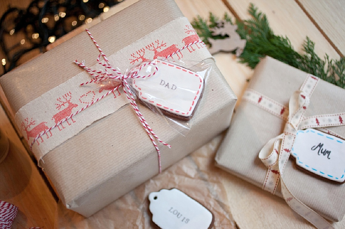 Gingerbread Cookie Gift Tags Diy Bloved Blog