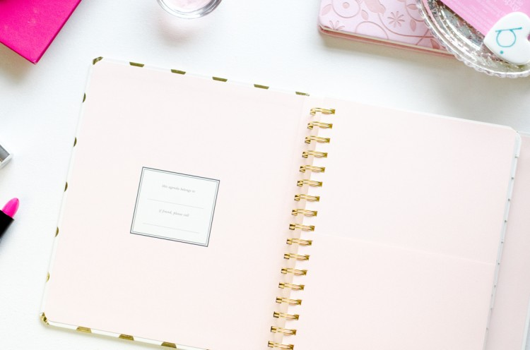 Kate Spade 17 month Agenda Review