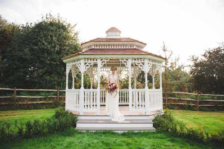 Bandstand at Marlybrooke House Kent Wedding Venue