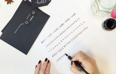 Lamplighter London Modern Calligraphy Class