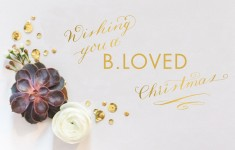 bloved luxury wedding lifestyle blog christmas 2014