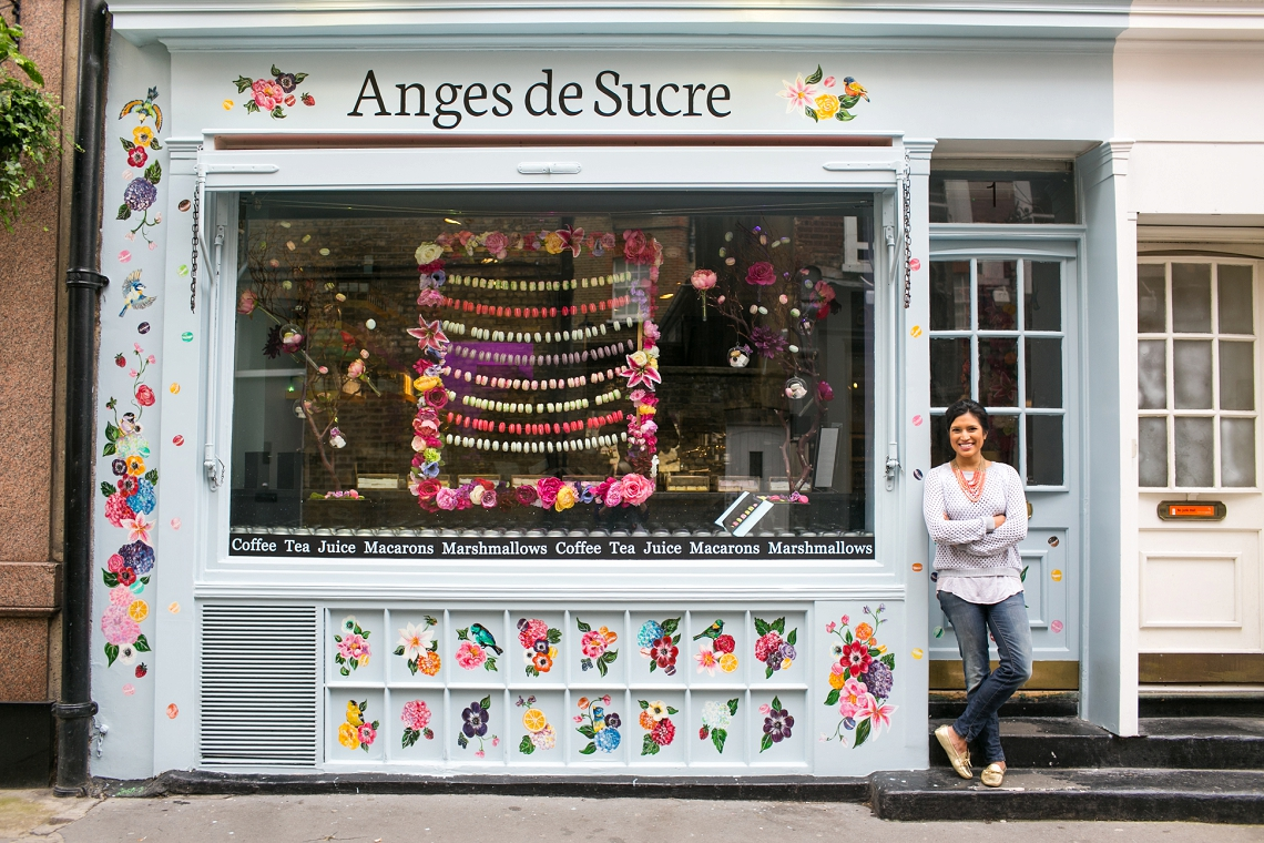 Not On The High Street Wedding Gifts: Colourful Artisan Patisserie Anges De Sucres Kensington