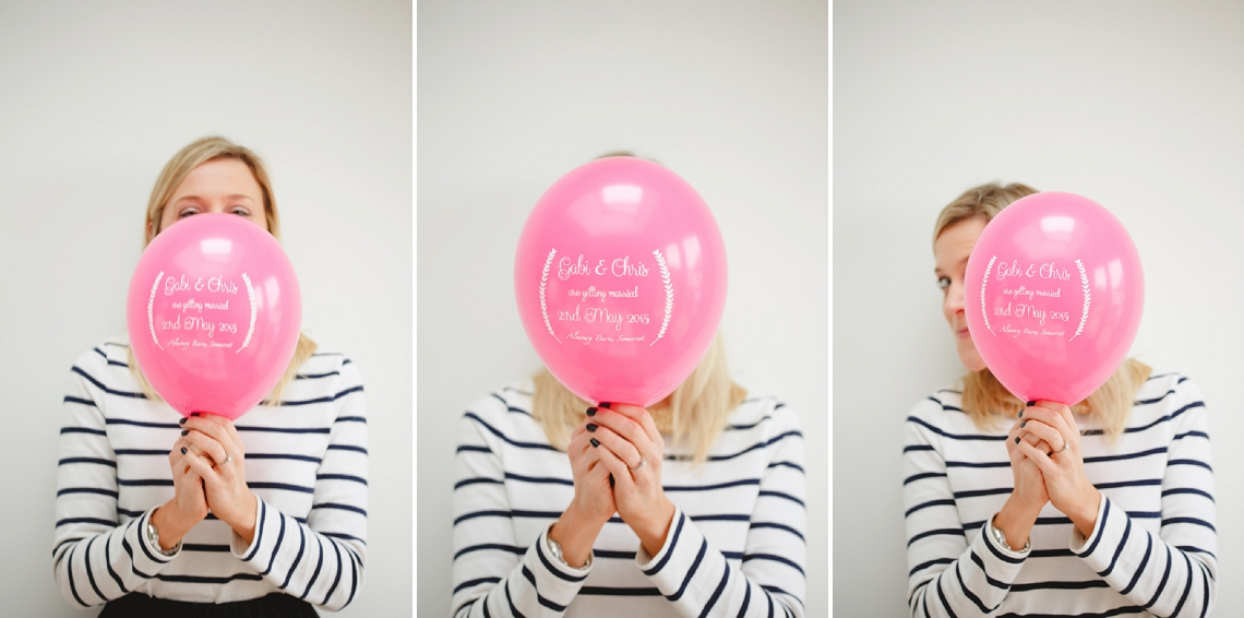 Balloon Save the Date DIY Claire Graham Photography