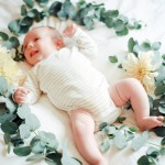 floral newborn shoot