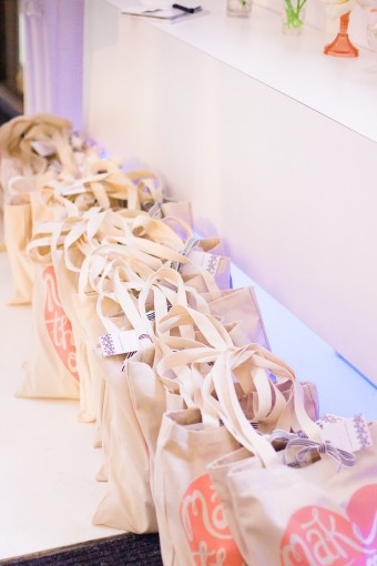wedding industry event goody bags
