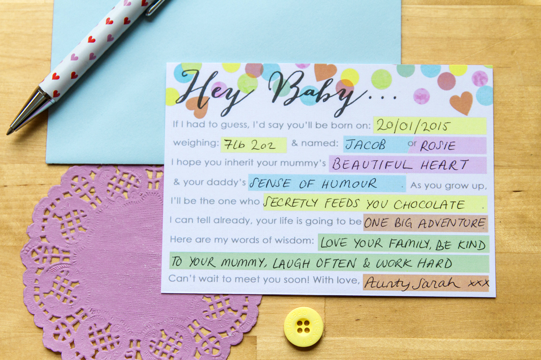 photograph relating to Baby Shower Mad Libs Printable titled Hey Child Boy or girl Shower Nuts-lib Printable Do-it-yourself