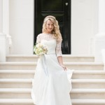 lace sleeve shanna melville wedding dress