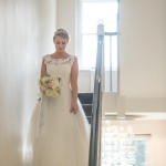 lace neck shanna melville wedding dress