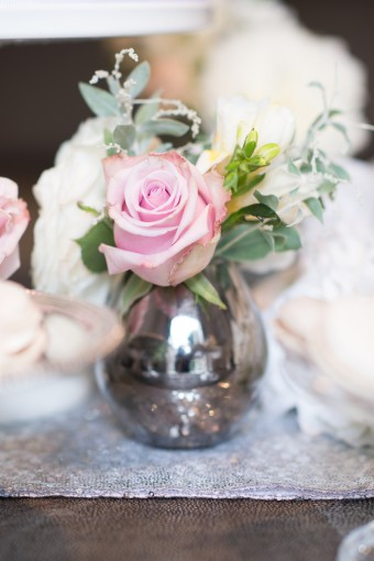 classic wedding flowers pink roses