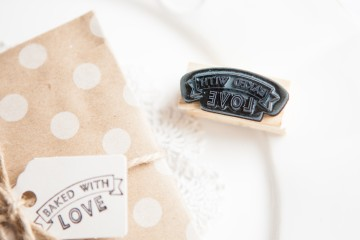 with love stamp wedding in a teacup