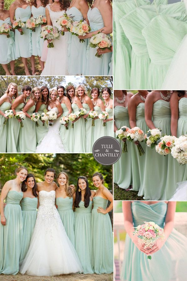Peach & Mint Bride...