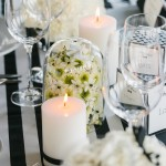black-and-white-stripe-wedding-table
