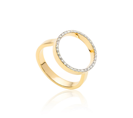 open-circle-gold-diamond-ring
