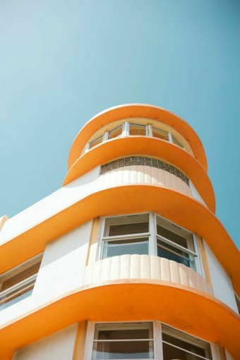 orange-and-white-building