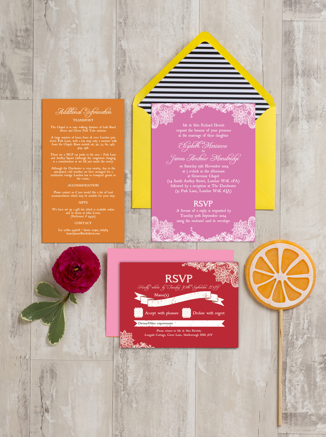 Wedding invitation wording etiquette advice please see this handy document for full examples of wedding invitation wording invitation wording examples for different family and wording scenarios ive stopboris Image collections