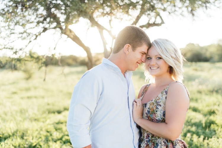 Effortless Romantic Engagement Shoot