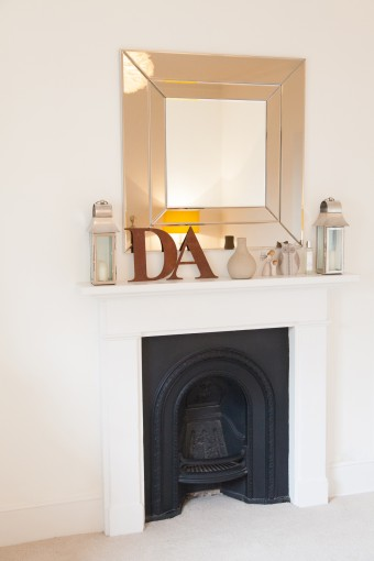 modern fireplace styling