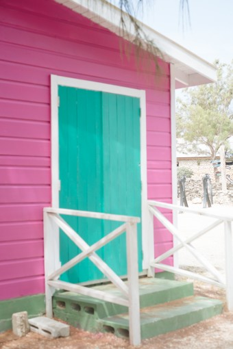 caribbean beach hut
